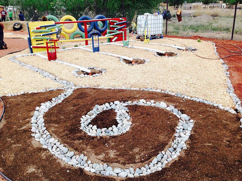 Colibrí children's play garden Image 2
