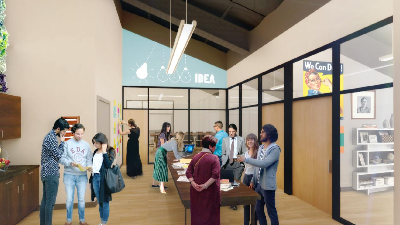 Social Enterprise Center Community Office Space
